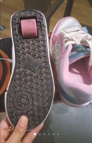 Bambas Heelys rueda