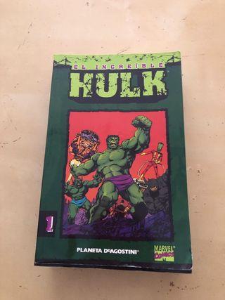 cómics increíble hulk