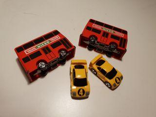 4 vehiculos Micro Tente