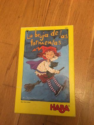 Juego HABA LA BRUJA DE LAS TORMENTAS