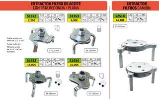 EXTRACTOR FILTROS DE ACEITES