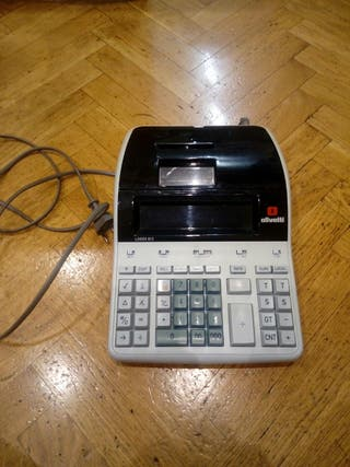 Calculadora-impresora olivetti