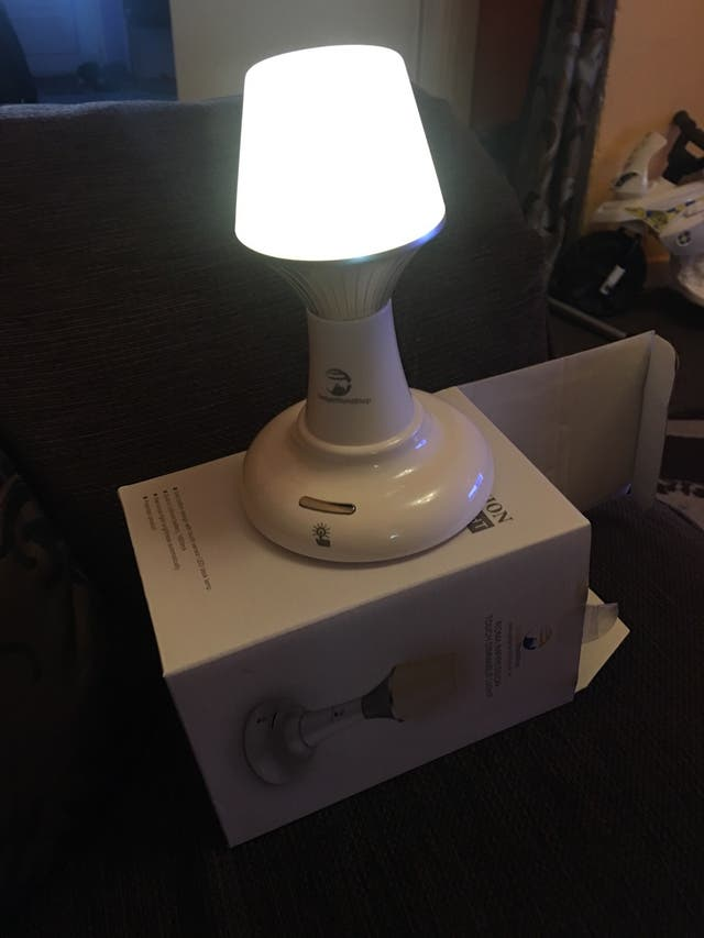 Touch dimmable lamp light