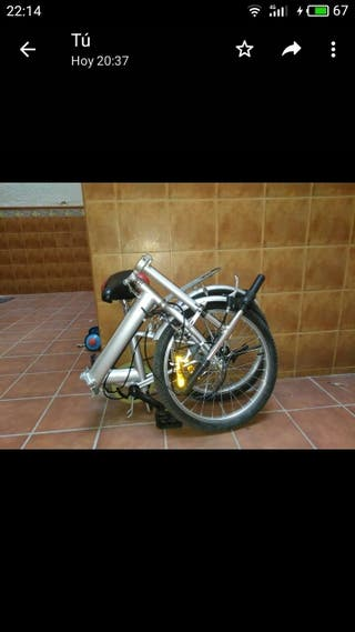 Bici plegable