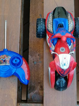 moto radiocontrol Spiderman