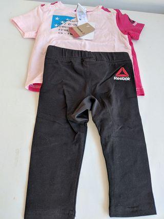 Por Camiseta Mano De Crossfit 18 12m 9 Pantalon Reebok Segunda Niña xz4SwZt