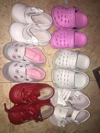 Zapatos sandalias niña talla 20