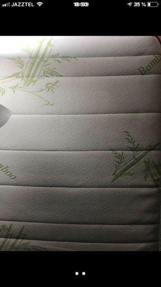 Colchón de bambú