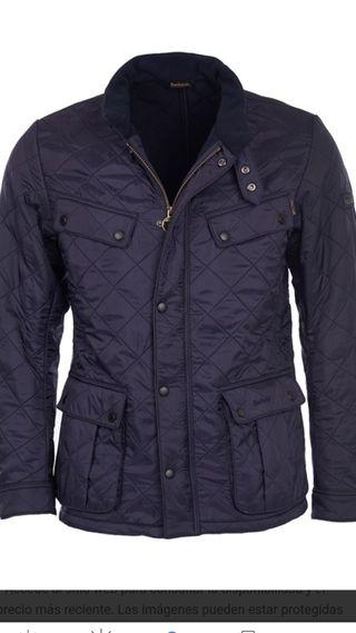 Chaqueta Barbour Ariel Polarquilt jacket navy. L.