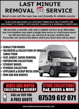 For Sale Removal Service
