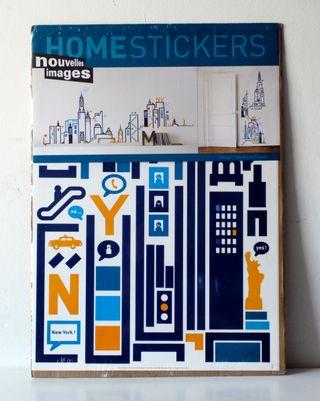 Adhesivos decorativos Home Stickers. Nueva York