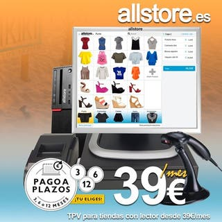 Tpv completo desde 39€/mes