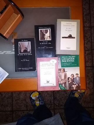 Libros literatura
