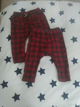 Pantalón franela 12-18 meses