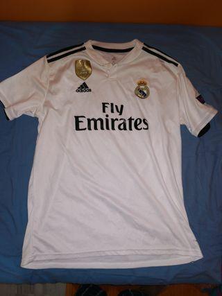 camiseta fútbol Real Madrid