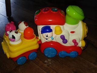 Tren musical de juguete