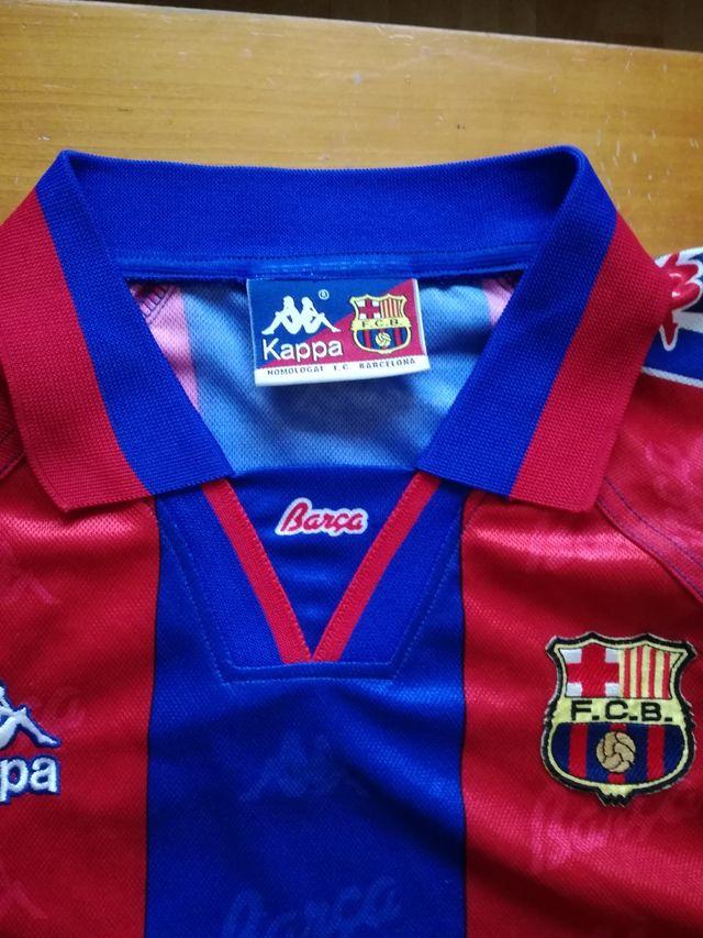 Camiseta Kappa f.c.Barcelona Vintage 96-97 de segunda mano por 57 ... ee00cc9074a52