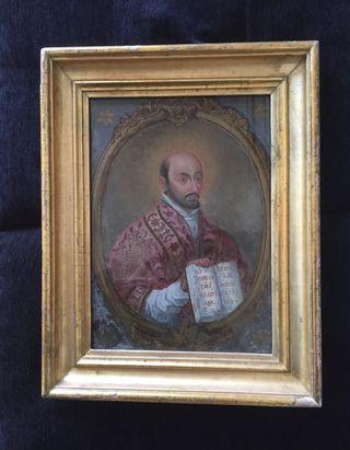 4 cuadros antiguos óleo del SIGLO XVII - XIX