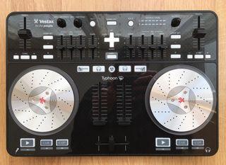 Controlador DJ Vestax Typhoon Black NUEVA