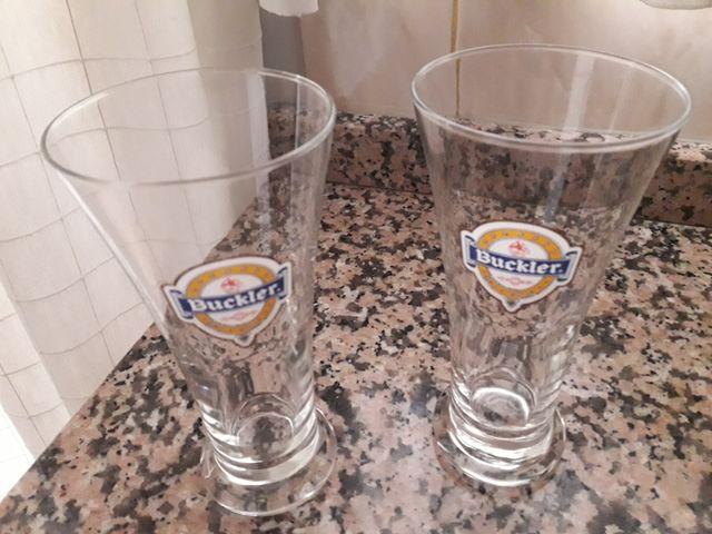 Vasos de cerveza