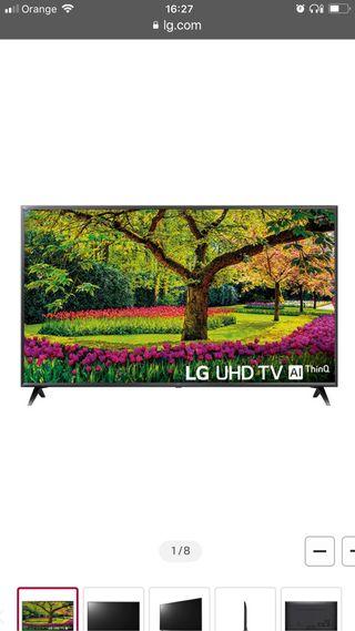 LCD led 43 LG Uk6300PLB 4K