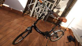 Bicicleta plegable Mulberry, nueva