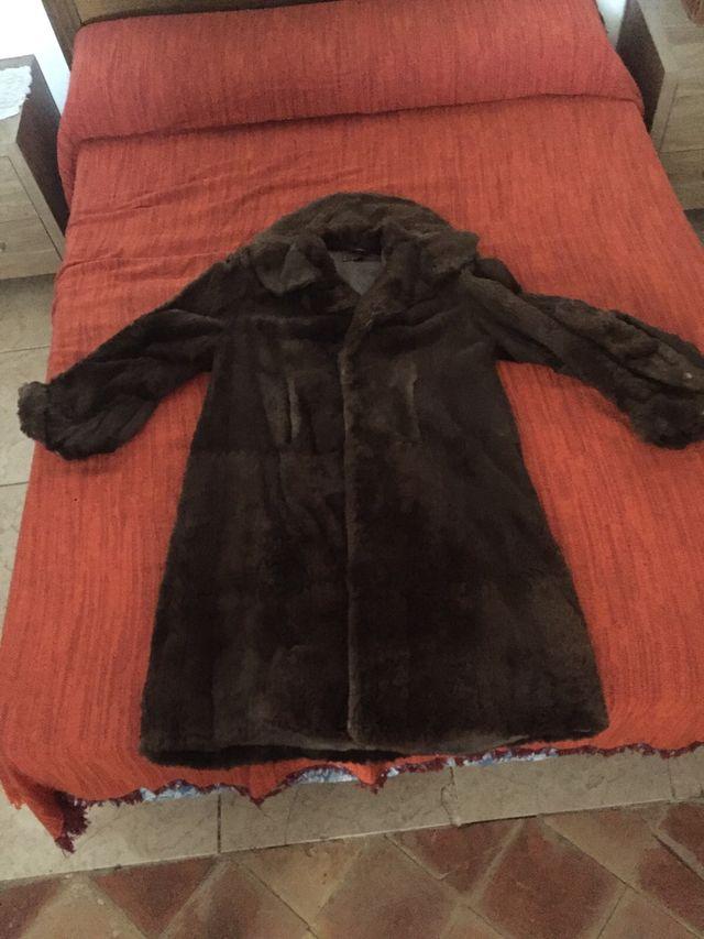 Abrigo de visón vintage