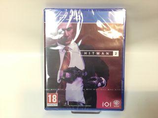 JUEGO HITMAN 2 PS4 PRECINTADO