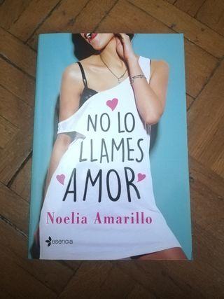 libro No lo llames amor