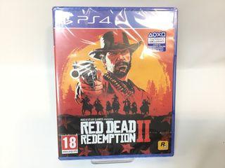 JUEGO RED DEAD II PRECINTADO PS4