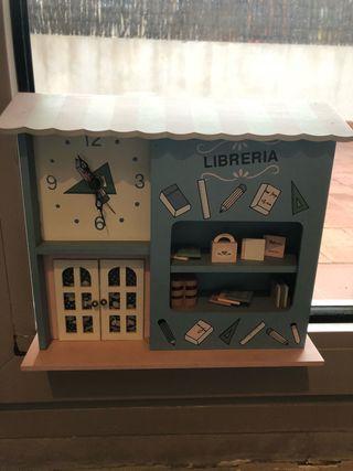 Reloj librería
