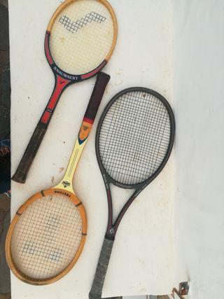 Conjunto de raquetas de tenis