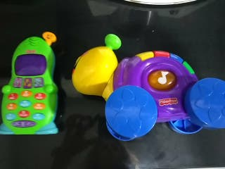 juguete bebe fisher price