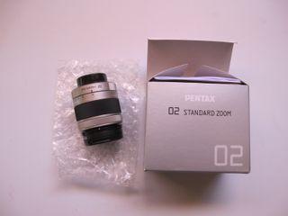 Objetivo 02 Standard zoom Cámaras Pentax serie Q