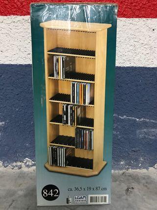 Mueble estantería para 120 CD