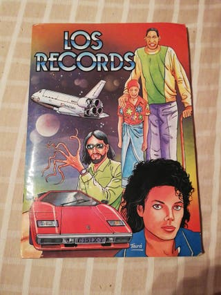 album cromos los records