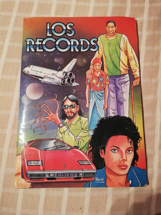 album cromos los records