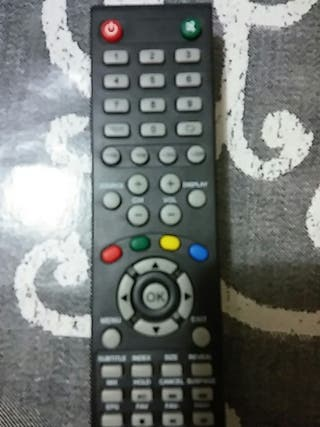 mando nuevo sin uso para tv td system
