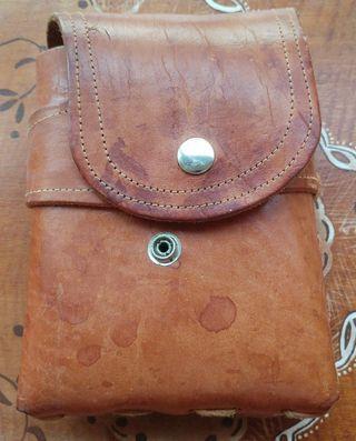 3968d386d7b Cinturón de cuero para hombre de segunda mano en Madrid en WALLAPOP