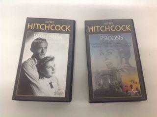 Colección películas VHS Hitchcock