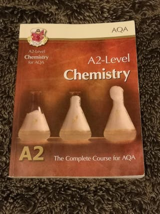 AQA A2 Level Chemistry book