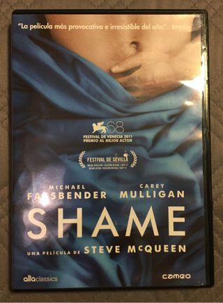 """""""SHAME"""" dvd por 5€!"""