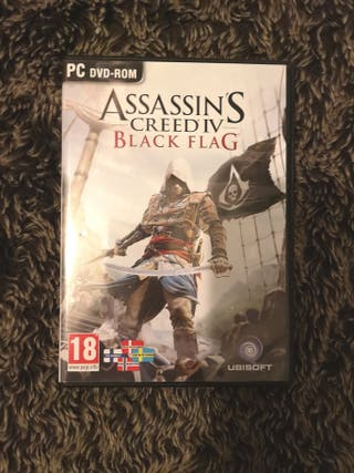 Assassin's creed Black Flag PC DVD