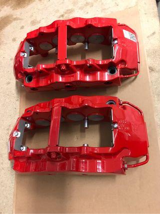 Pinzas brembo 8 pistones Audi