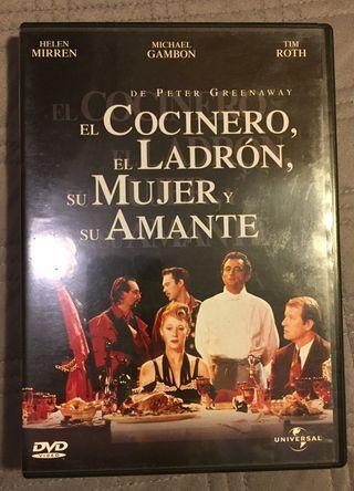 """""""EL LADRON, EL COCINERO, SU MUJER Y SU AMANTE"""" 5€!"""