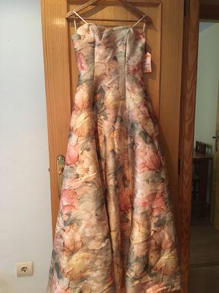 Vestido largo usado