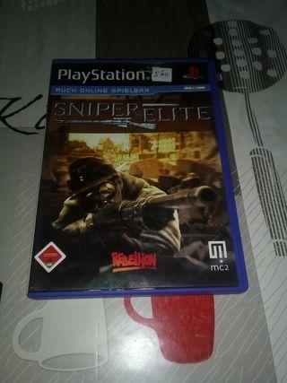 sniper elite ps2