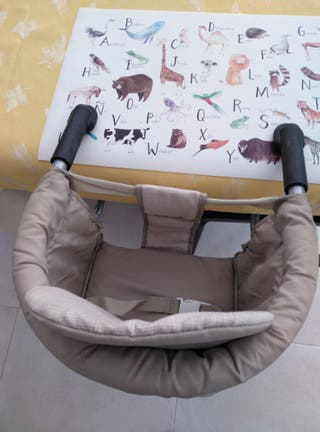 De Segunda Bebé Mano 14 Plegable Silla Mesa Confort Trona Por Ajq4RL35