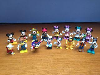Lote Muñecos Disney pvc
