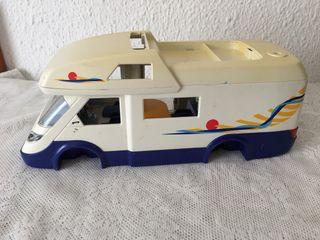 Autocaravana de playmobil.